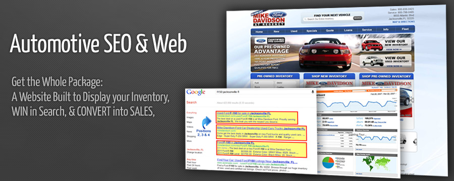 Automotive SEO & Web