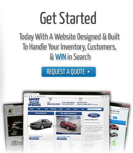 Get Started With An Automotive Website