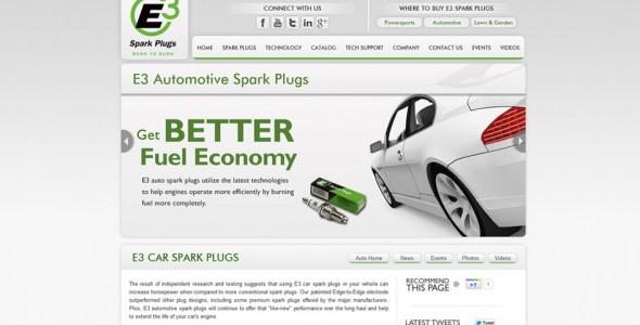 E3 Automotive Spark Plugs