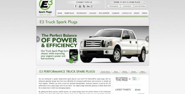 E3 Trucks Spark Plugs